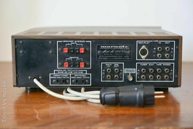 Amplificateur marantz 1060 restauré
