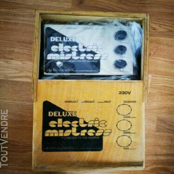 Electro-harmonix deluxe electric mistress flanger/pedal