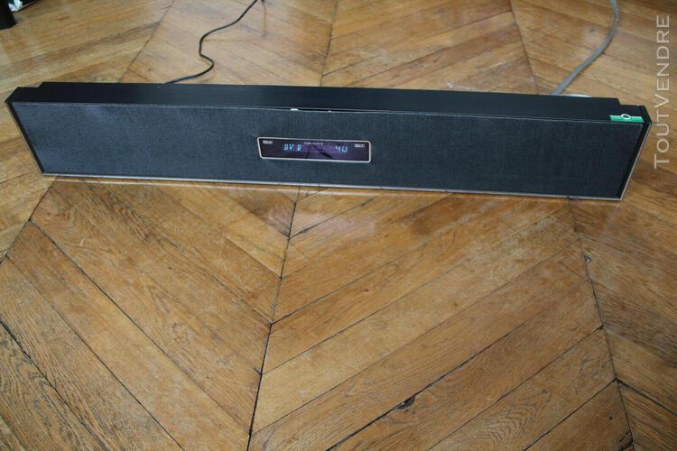 Enceinte barre de son (sound bar) scott spx 80 bk all-in-one