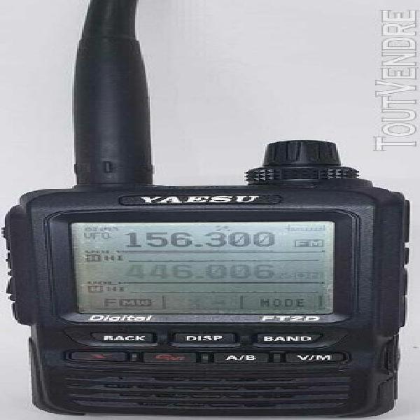 Ft2d yaesu - émetteur/récepteur portable dualband 144 e