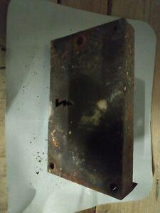 Grande serrure porte de garage ou grange ancienne fer forgé