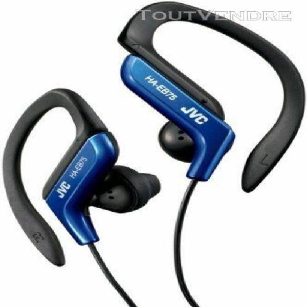 Jvc ha-eb75-a-e sports bleu - ecouteurs tour d'oreille - jac