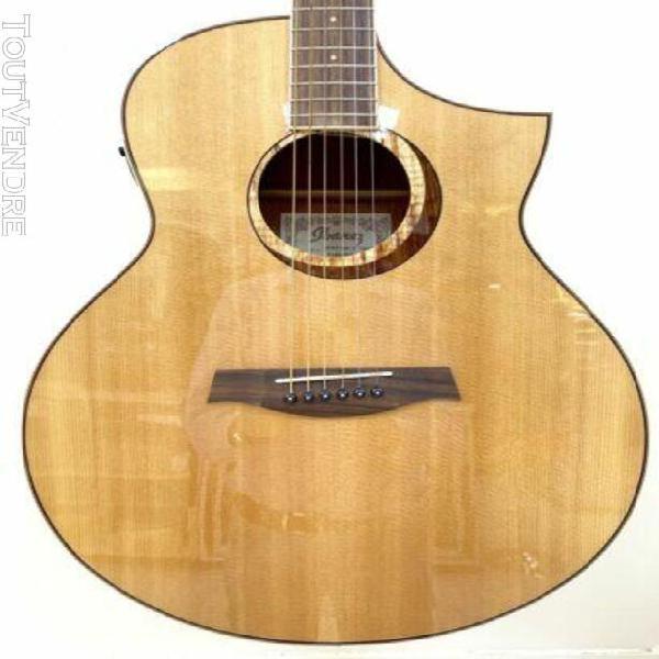Magnifique guitare electro-acoustique ibanez aew21vk-nt natu