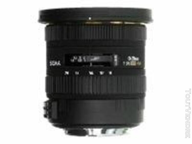 Objectif sigma ex - fonction grand angle - 10 mm - 20 mm - f