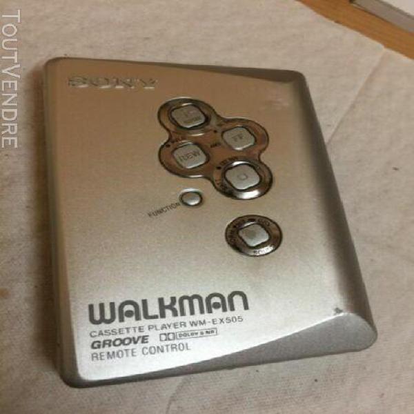 Sony walkman wm-ex505 cassette player working condition vint