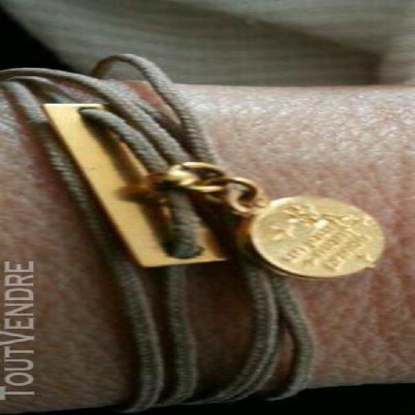 """Adorable bracelet multitours """"un jour mon prince """" et bracel"""