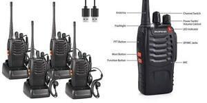 Baofeng 888s talkie walkie longue distance two way radio usb
