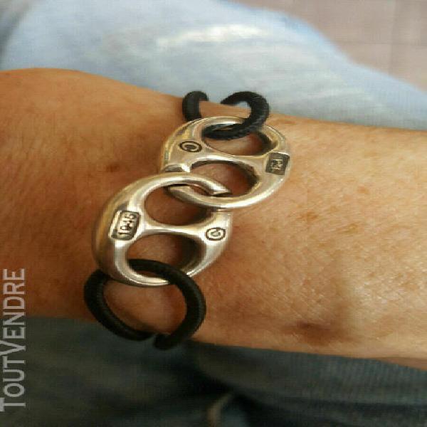Bracelet élastiqué céline, authentique