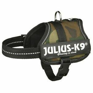 Harnais power julius-k9 baby 2 xs-s: 33-45 cm camouflage