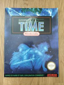 Illusion of time - guide officiel - nintendo snes