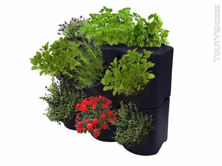 jardinière aromabrik noir violine - poétic