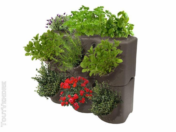 jardinière aromabrik taupe - poétic