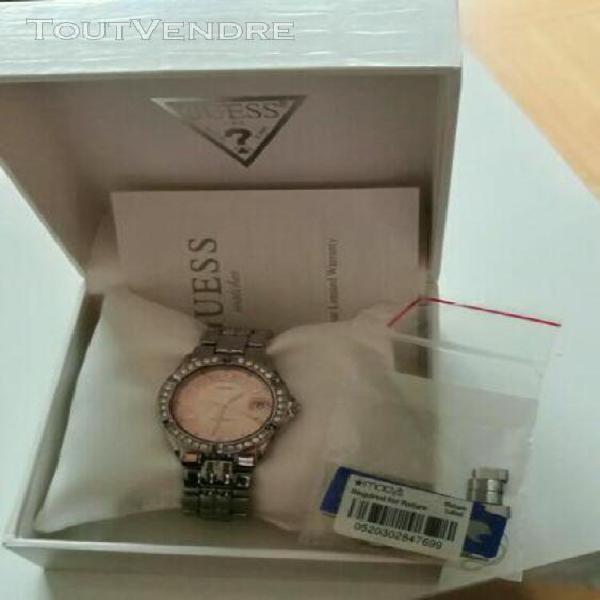Magnifique montre pour femme marque guess comme neuve