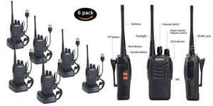 Nestling talkie walkie usb rechargeable sans fil radios