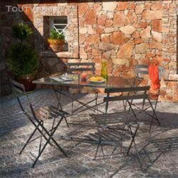 Table de jardin Levante blanc résistant aux intempéries table Ø 70 cm table de balcon stable Blanc Nouveau