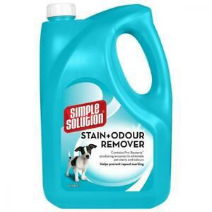 Simple solution détachant contre taches et odeurs pour