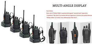 Talkie walkie rechargeable longue portée two way radio en