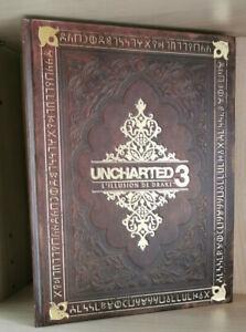 Uncharted 3 guide collector trés bon etat