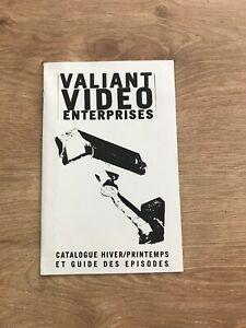 Valiant video catalogue et guide des episodes play station
