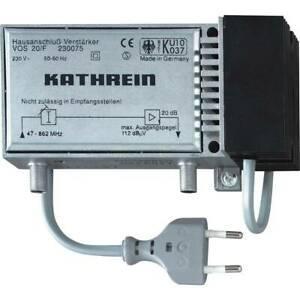 Amplificateur sat 20 db kathrein vos 20/f