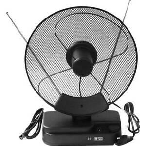 Antenne télescopique dvb-t/t2 active smart f22 pour