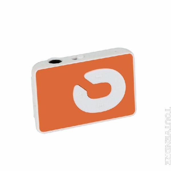clip usb mini mp3 music media player support carte micro tf