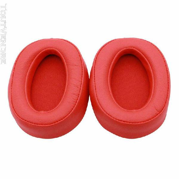 coussinets d'oreille de remplacement pour casque sony mdr-10