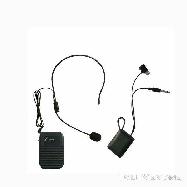 nouveaux ¿¿couteurs filaires megaphone microphones
