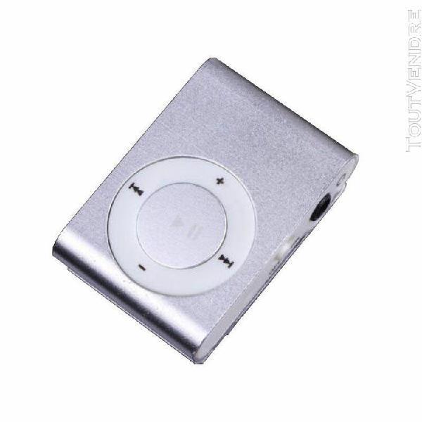 prise en charge 1-8gb mini clip micro metal sd metal mp3 pou