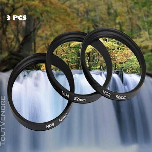 Shun yi densité neutre nd2 52 mm nd8 kits nd4 filtre pour