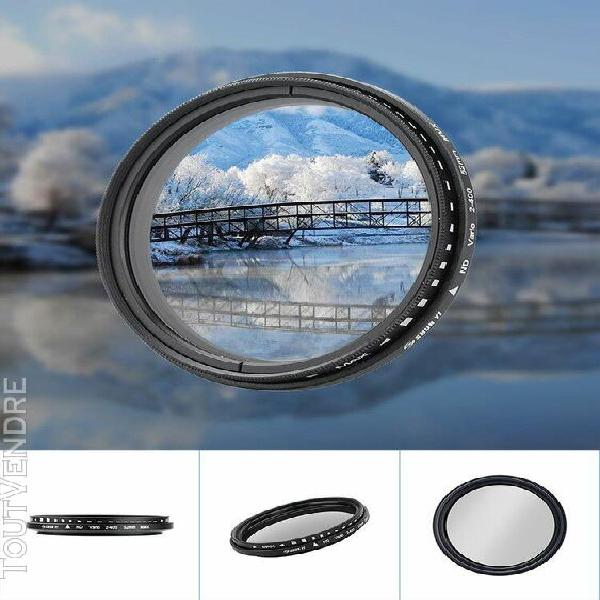 Shun yi nd2-400 réglable densité neutre 52mm fader filtre
