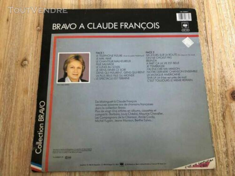 Vinyle claude francois 19 titres originaux