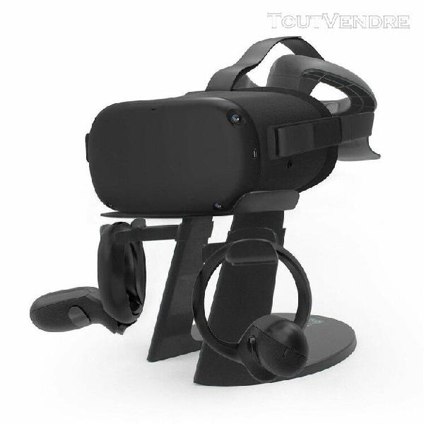 vr casque stand support d'affichage station controller pour