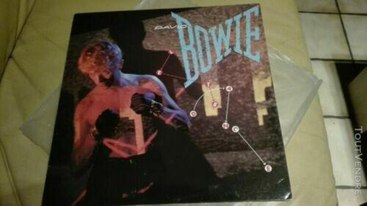 """david bowie let's dance 1983 lp"""" (33t) pop dance"""