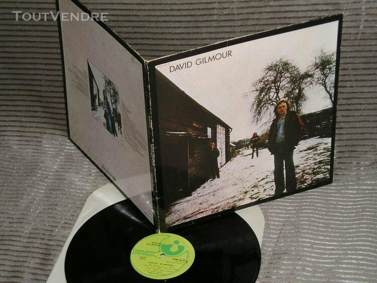 david gilmour: same - rare lp / disque vinyl 33t - france 1