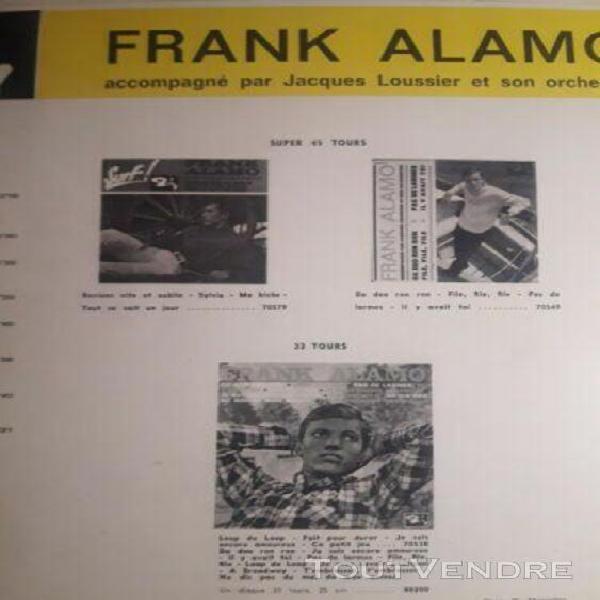 disque vinyle frank alamo