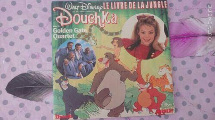 douchka 45 tours le livre de la jungle
