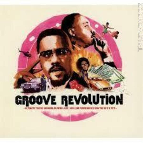groove revolution - definitive cuts and rare jazz, soul & fu