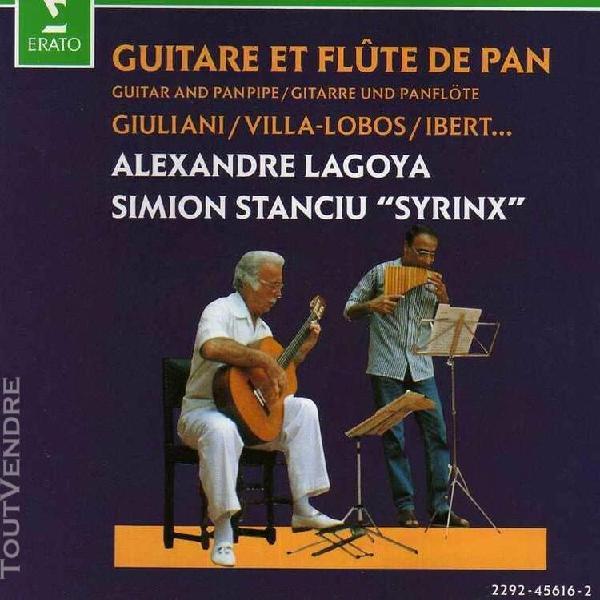 guitare et flute de pan (grande sonate / op.85 - piece en..)