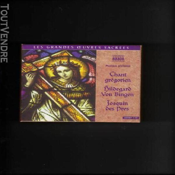 les grandes oeuvres sacrees: chant gregorien, hildegad von