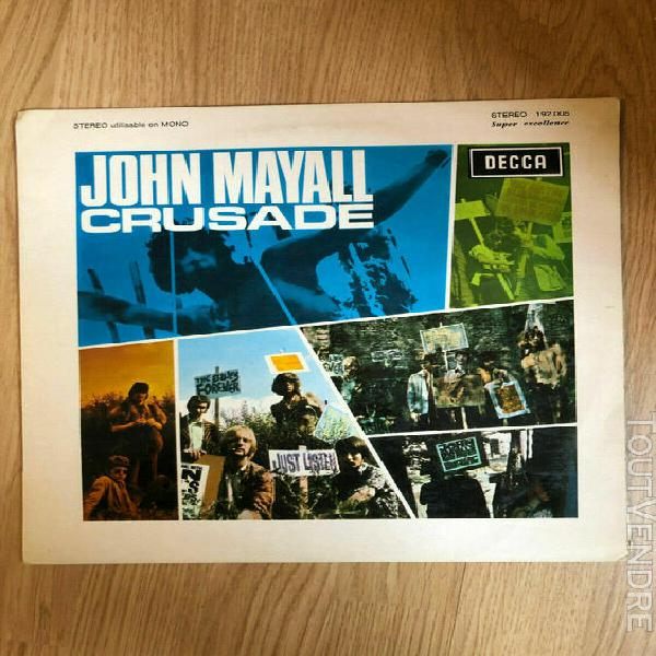 "lp 33t john mayall's bluesbreakers ""crusade"""