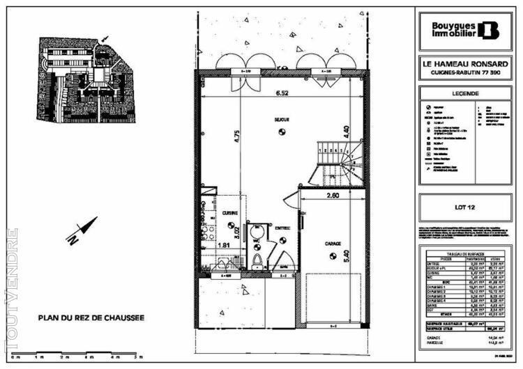 Maison guignes 5 pièce(s) 86,07m2