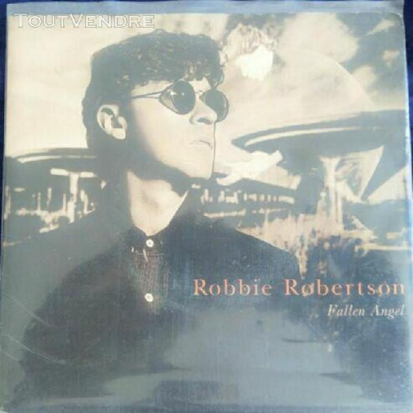 "peter gabriel robbie robertson single ""fallen angel"". pressa"