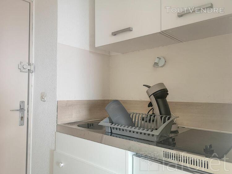 Proche centre ville - studio 20 m² rénové meublé