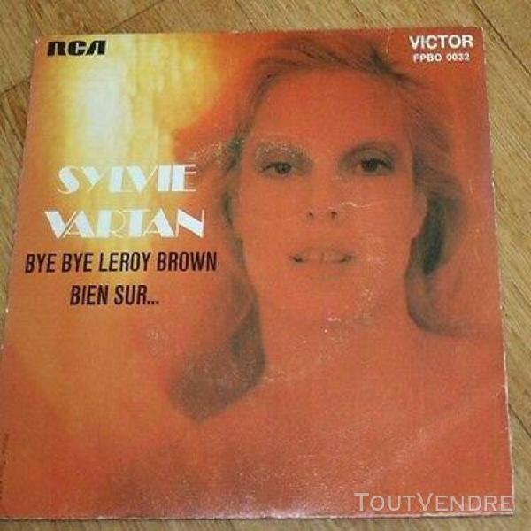 vinyle sylvie vartan bye bye leroy brown