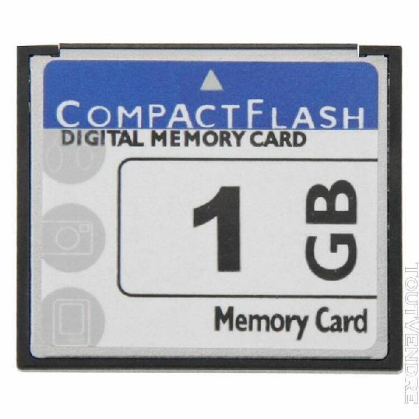 Carte mémoire flash compacte de 1 go 100% de capacité