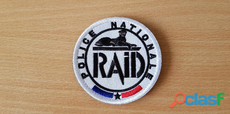 Ecusson brodé logo du raid
