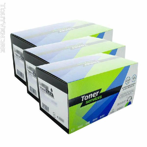 equivalent ricoh type bp20 pack 3 toners noir 402430