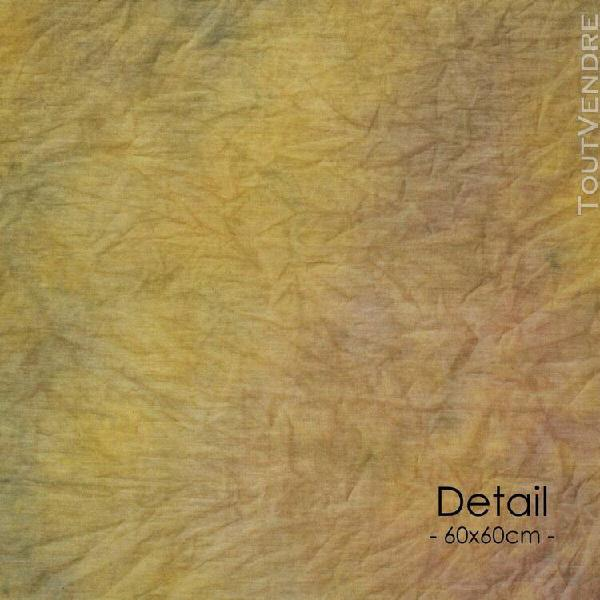 fond en tissu walimex 2,8x5,8 m marron batik
