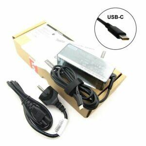 Lot 2x boxes usb-c original lenovo fru01fr024 alim ps ca 65w